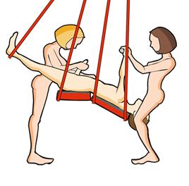 sex swing three way