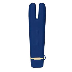 Crave Duet Flex Vibrator Blue
